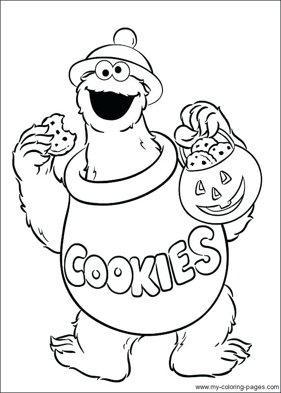 569x796 Cookie Monster Coloring Pages Cookie Coloring Pages Cookie