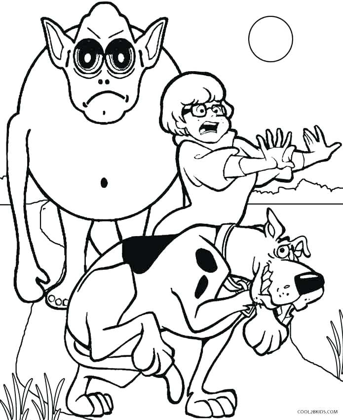 695x850 Amazing Monster Coloring Pages And Monster Coloring Pages