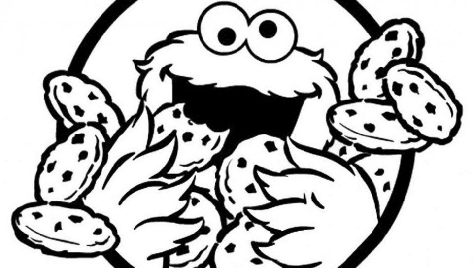 Cookie Monster Coloring Pages Printable Free at GetDrawings ...