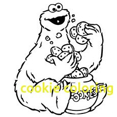 230x230 Cookie Coloring Pages With Cookies Coloring Pages Free Zebra