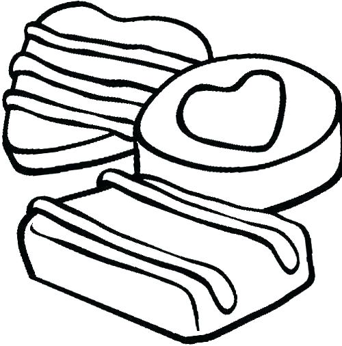 500x506 Cookies Coloring Pages Cookies Coloring Page Girl Scout Cookie