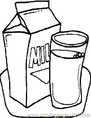 309x400 Milk Coloring Pages Milk Coloring Page Milk Carton Colouring Pages