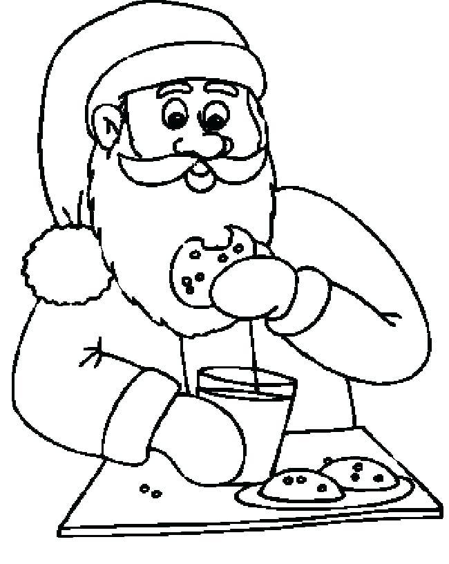 650x816 Santa Clause Coloring Pages Santa Claus Mask Coloring Pages