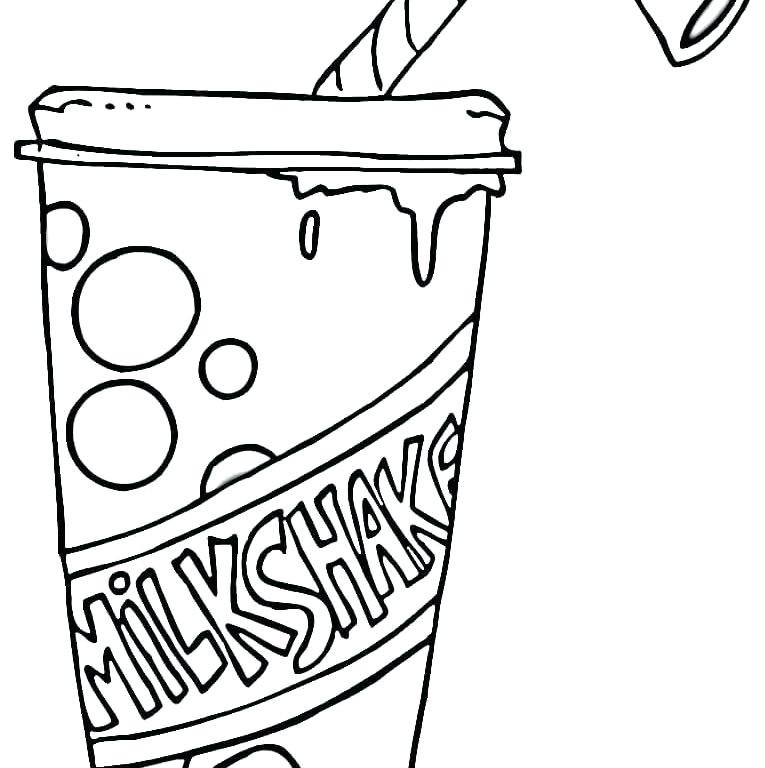 Cookies And Milk Coloring Page at GetDrawings | Free download