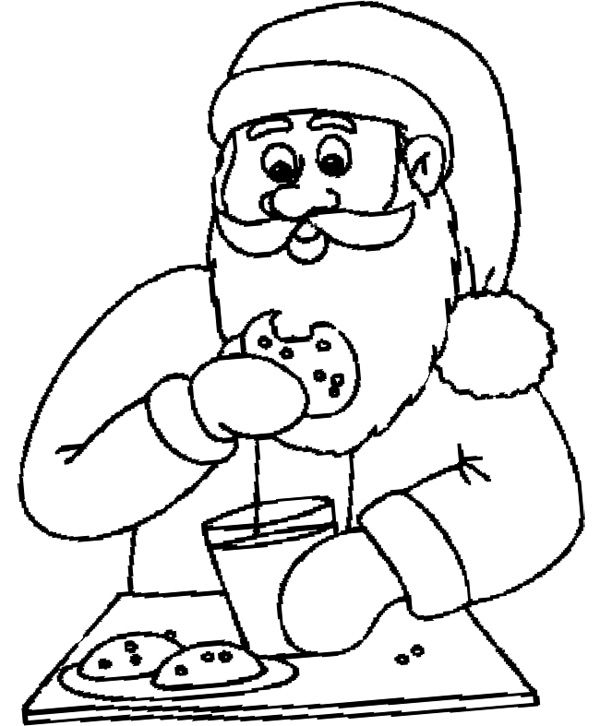 600x726 Chocolate Chip Cookies Coloring Pages