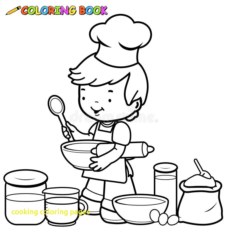 800x800 Cooking Coloring Pages