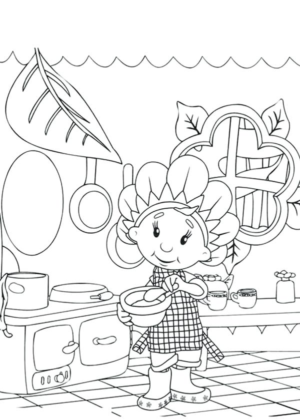 600x841 Cooking Coloring Pages And Cooking At Kitchen