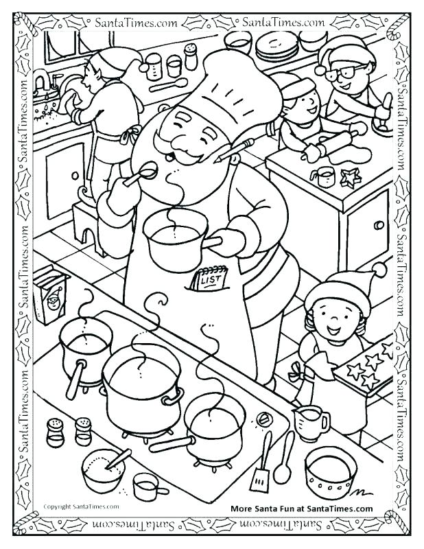 618x800 Cooking Coloring Pages Perfect Cooking Coloring Page Free Download