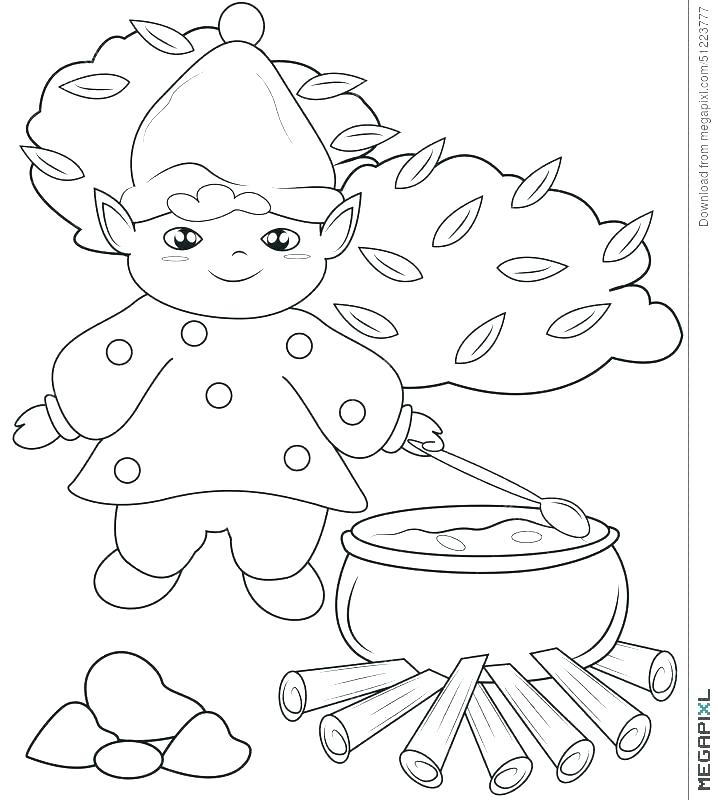 718x800 Kitchen Coloring Page Coloring Page Parts Of A House Kitchen