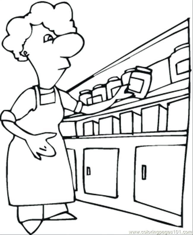 650x792 Kitchen Coloring Pages Kitchen Coloring Page Kitchen Utensil