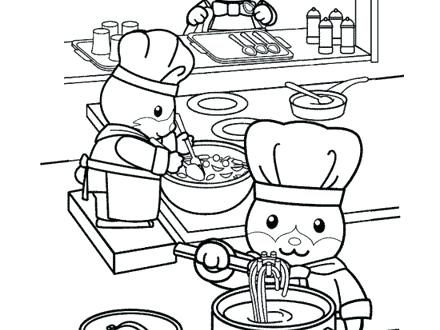 Cooking Utensils Coloring Pages At Getdrawings Com Free For