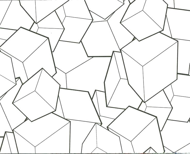 736x598 Best Of Coloring Pages And Geometric Blocks Design Coloring