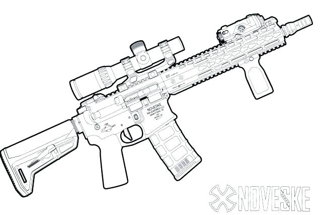 640x427 Cool Gun Coloring Pages Gun Coloring Pages With Gun Coloring Pages