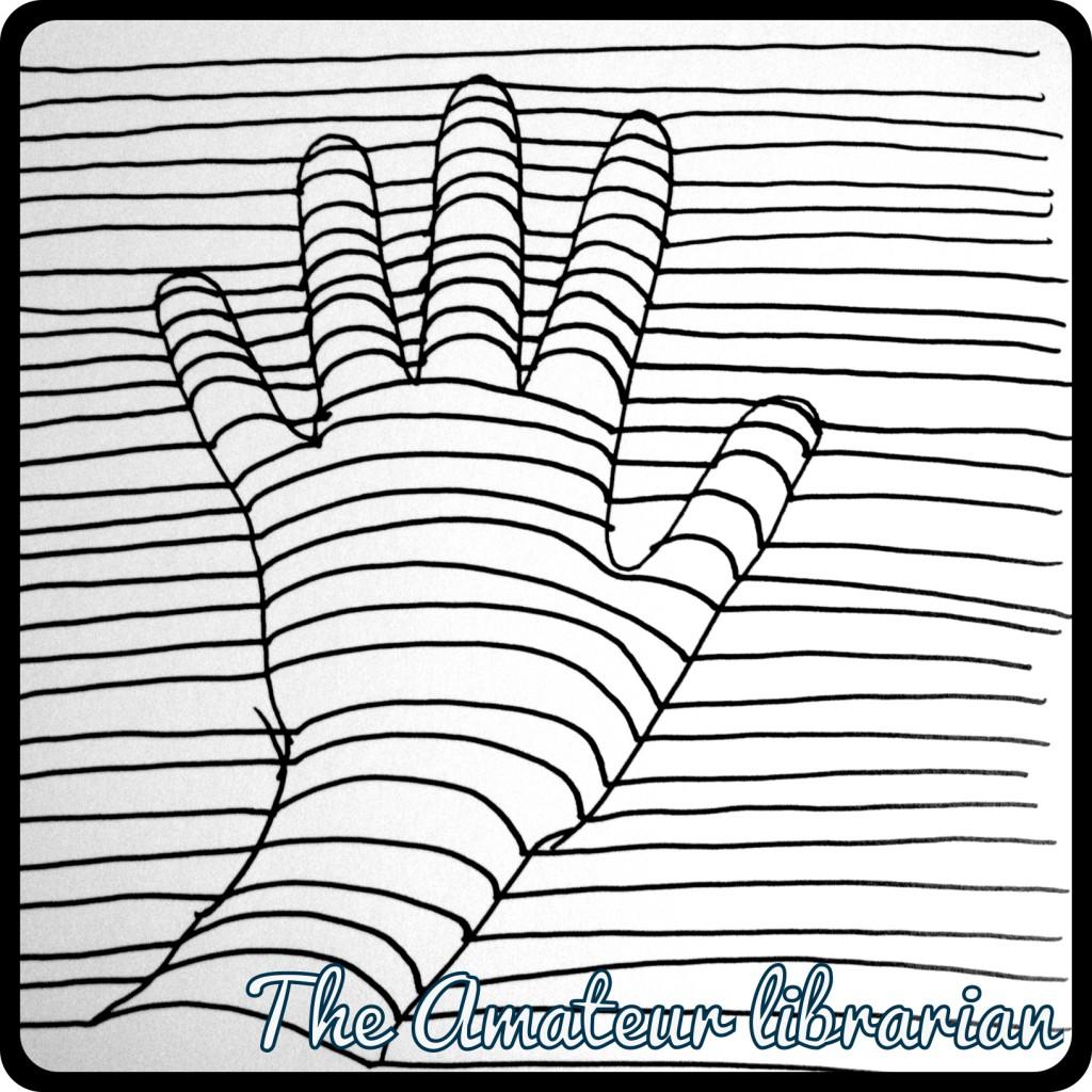 1024x1024 Optical Illusion Hand Drawing