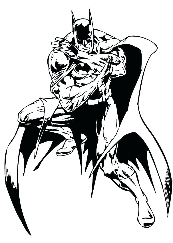 606x850 Cool Batman Coloring Pages Copy To Print For Kids Colouring Tiny