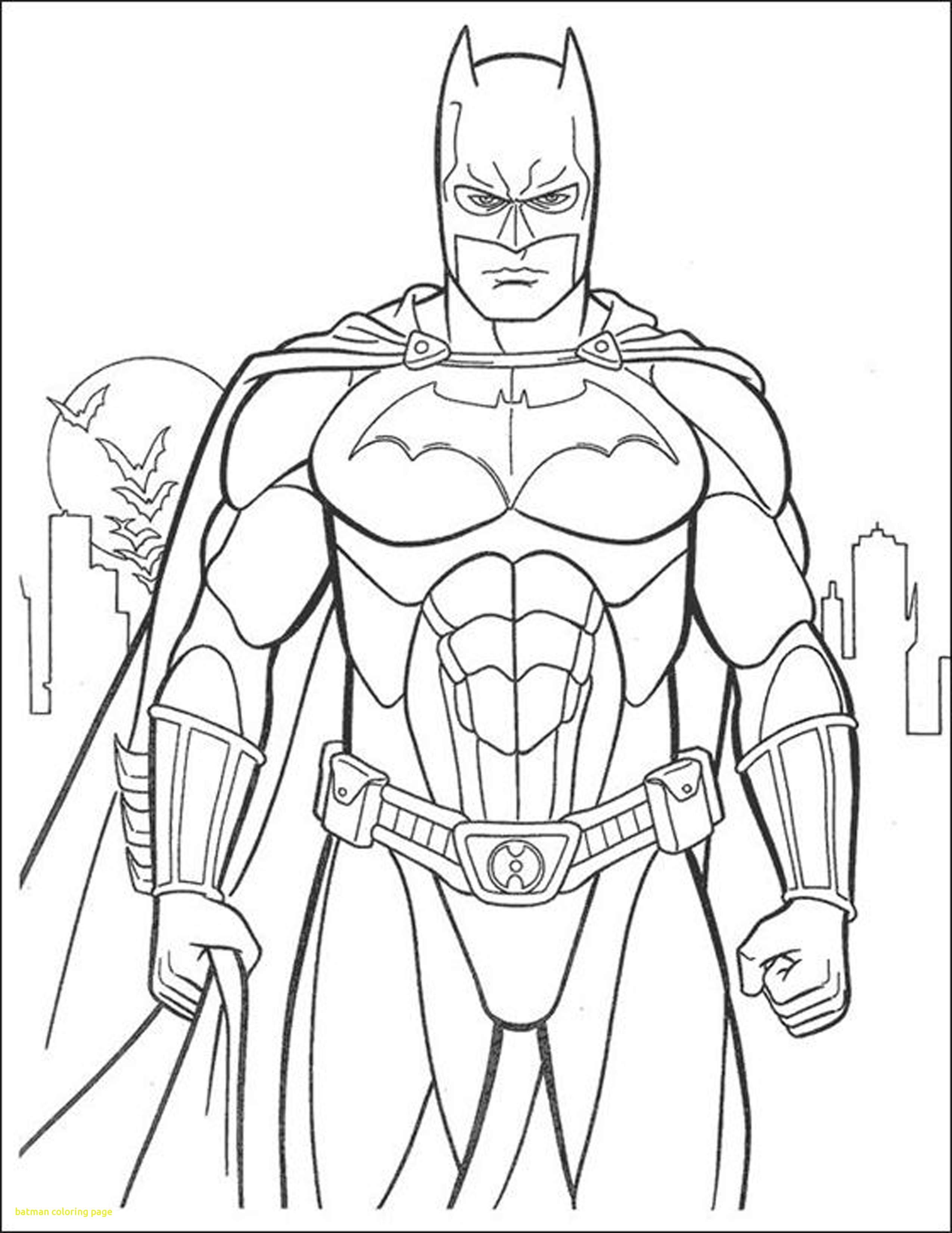 2550x3301 Fresh Batman Coloring Page With Batman Color Pages Coloring Sheet