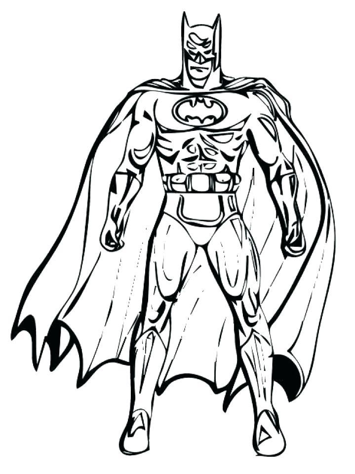 719x960 Printable Batman Coloring Pages Printable Batman Coloring Pages