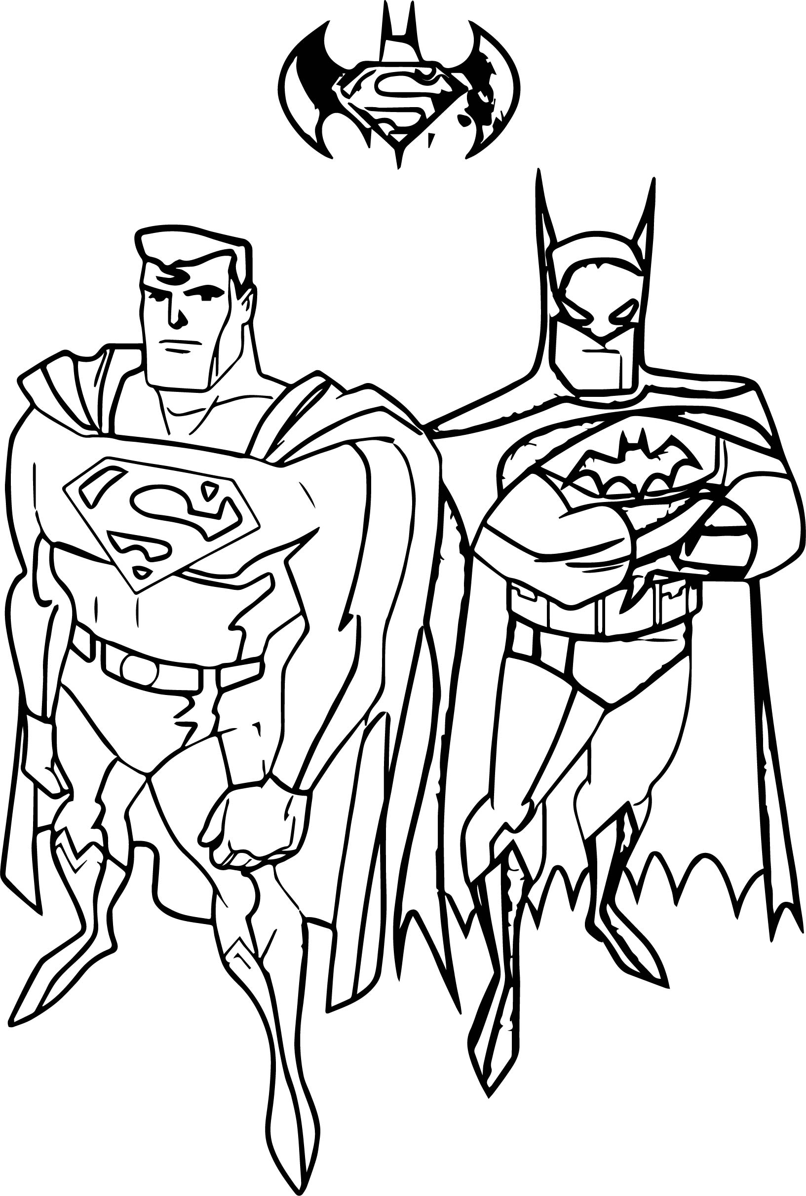 1633x2423 Superman Vs Batman Coloring Pages Collection Coloring For Kids