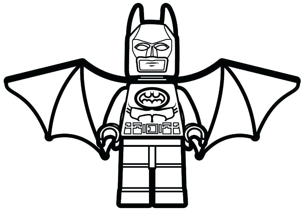 1044x720 Batman Coloring Pages For Kids Vanda