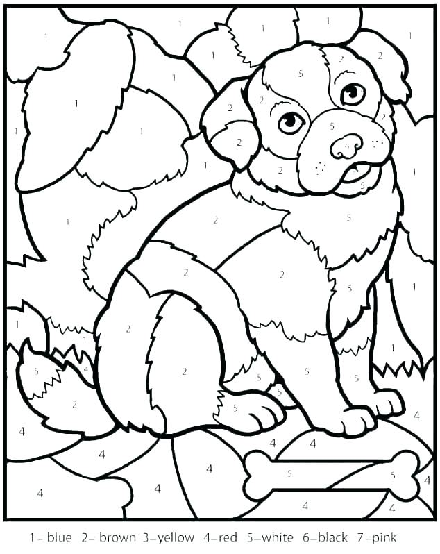 634x798 Number Colouring Pages Numbers Coloring Pages Impressive Color