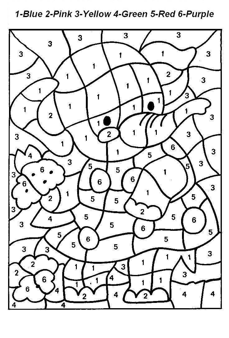 736x1088 Numbers Coloring Pages Cool Coloring Pages
