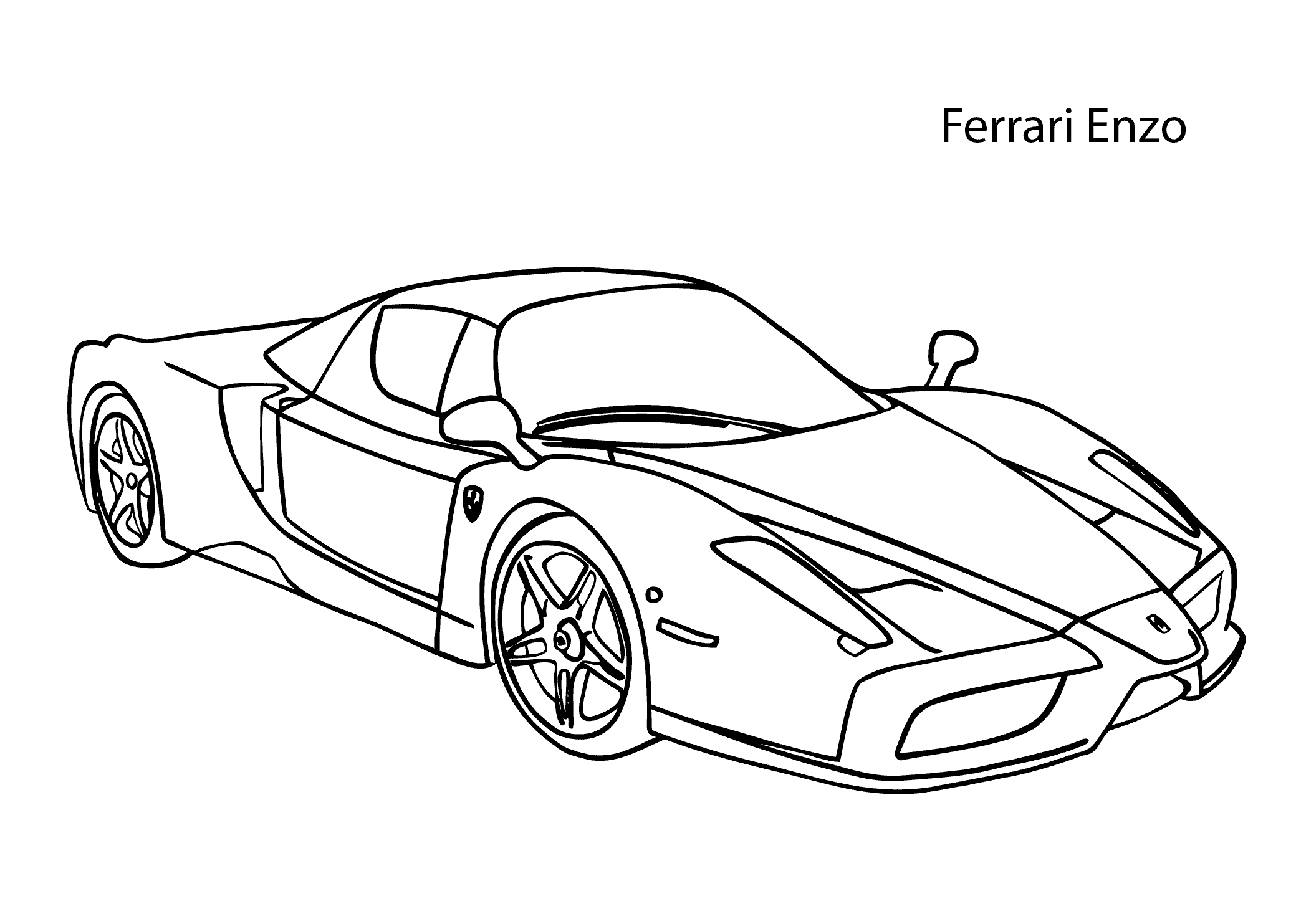 2079x1483 New Sports Cars Coloring Pages Collection Printable Coloring Sheet