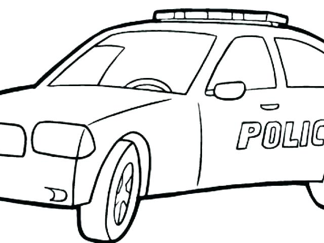 640x480 Race Car Coloring Pages Free Printable Police Page To Print Cool