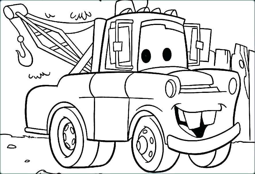 888x607 Coloring Page Of A Car