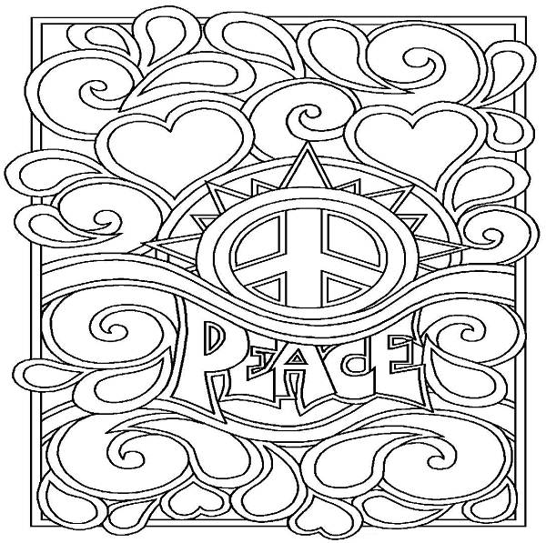 600x597 Cool Coloring Pages For Older Girls Color Bros