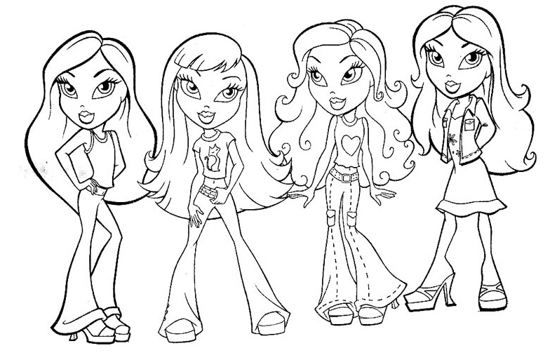 794x506 Disney Girl Coloring Pages