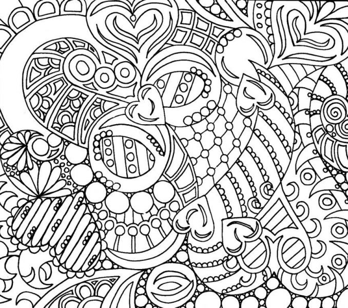 678x600 Cool Coloring Pages For Girls Cool Coloring Pages For Older Kids
