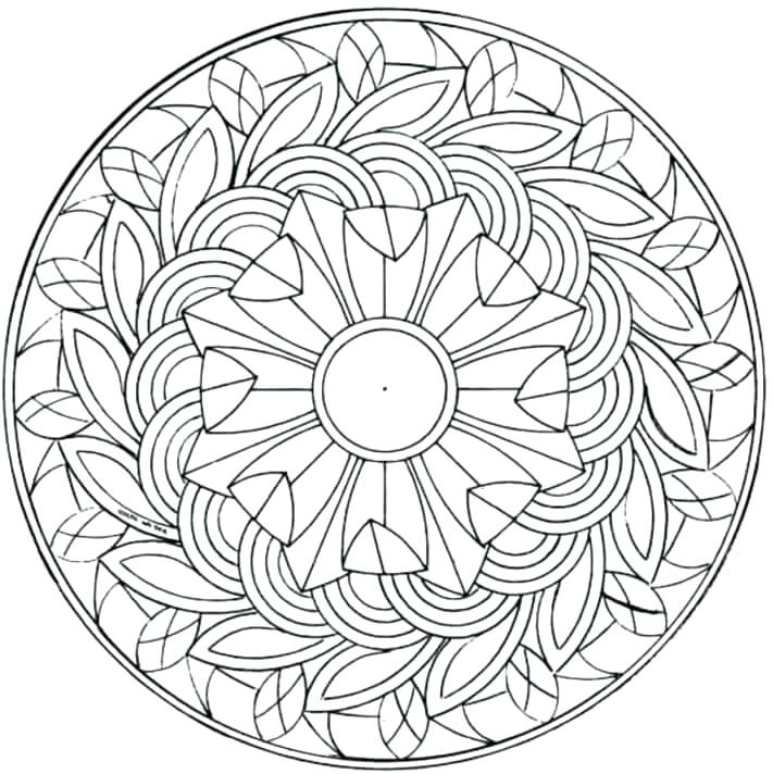 711x712 Coloring Pages For Older Kids