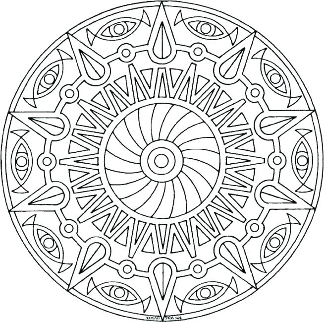 654x649 Coloring Pages For Teenagers Printable Flower Design Coloring