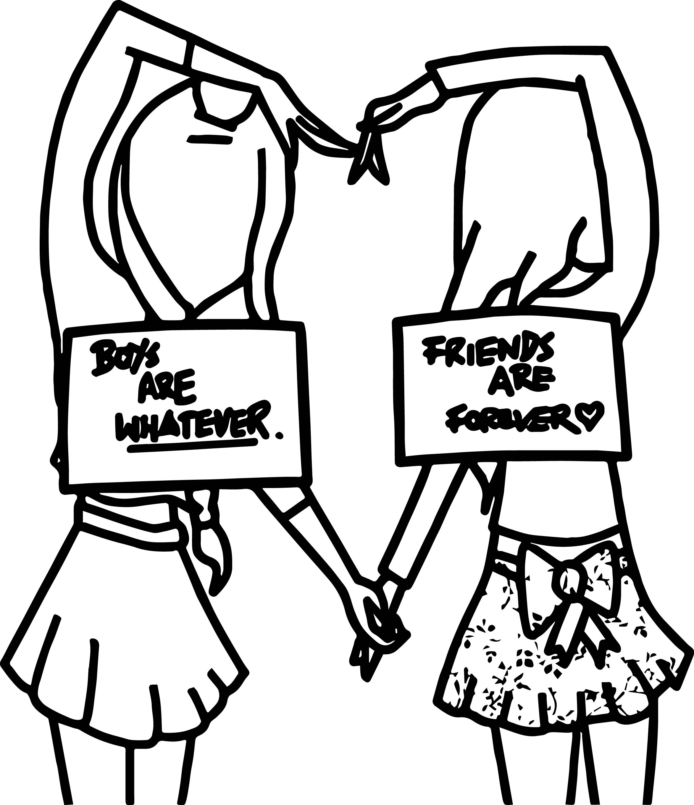 2346x2720 Now Best Friend Coloring Pages For Girls Bff With Printable