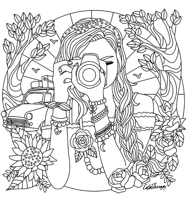 Cool Coloring Pages For Teens at GetDrawings.com | Free for personal ...