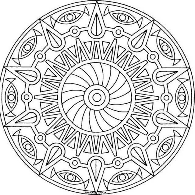 640x641 Cool Coloring Pages For Teenagers Printable Forever Coloring