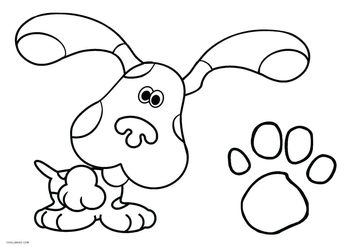 1119x800 Coloring Pages Print Princess Cool To Sheets Out Blues Clues Off