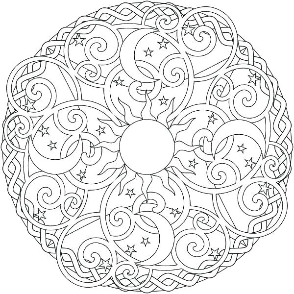 600x600 Cool Designs Coloring Pages Wolf Coloring Page