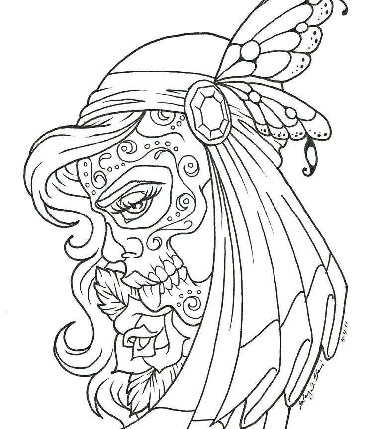 736x864 Idea Tattoo Coloring Pages To Print And Angel Tattoo Coloring