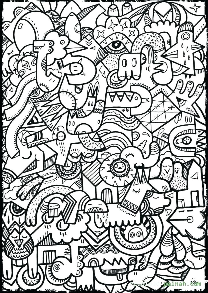 728x1024 Design Coloring Pages Cool Designs Coloring Pages Cool Design