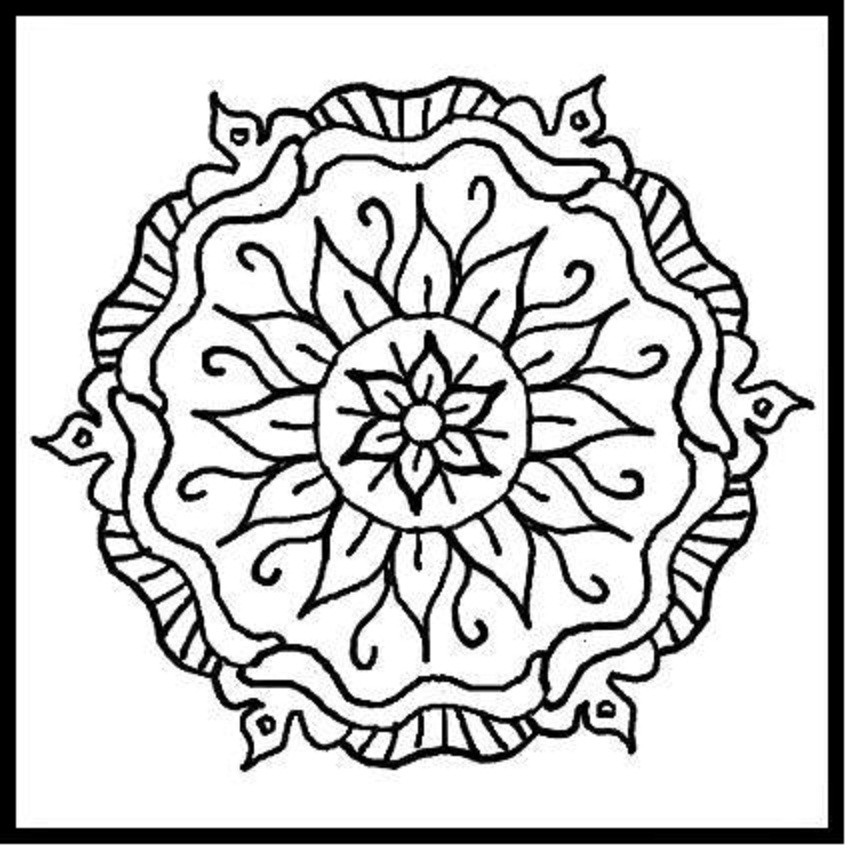 851x850 Design Coloring Pages To Print Educational Coloring Pages