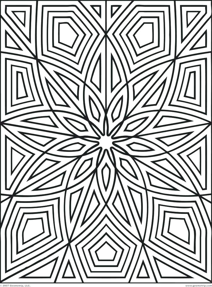 736x993 Cool Coloring Patterns