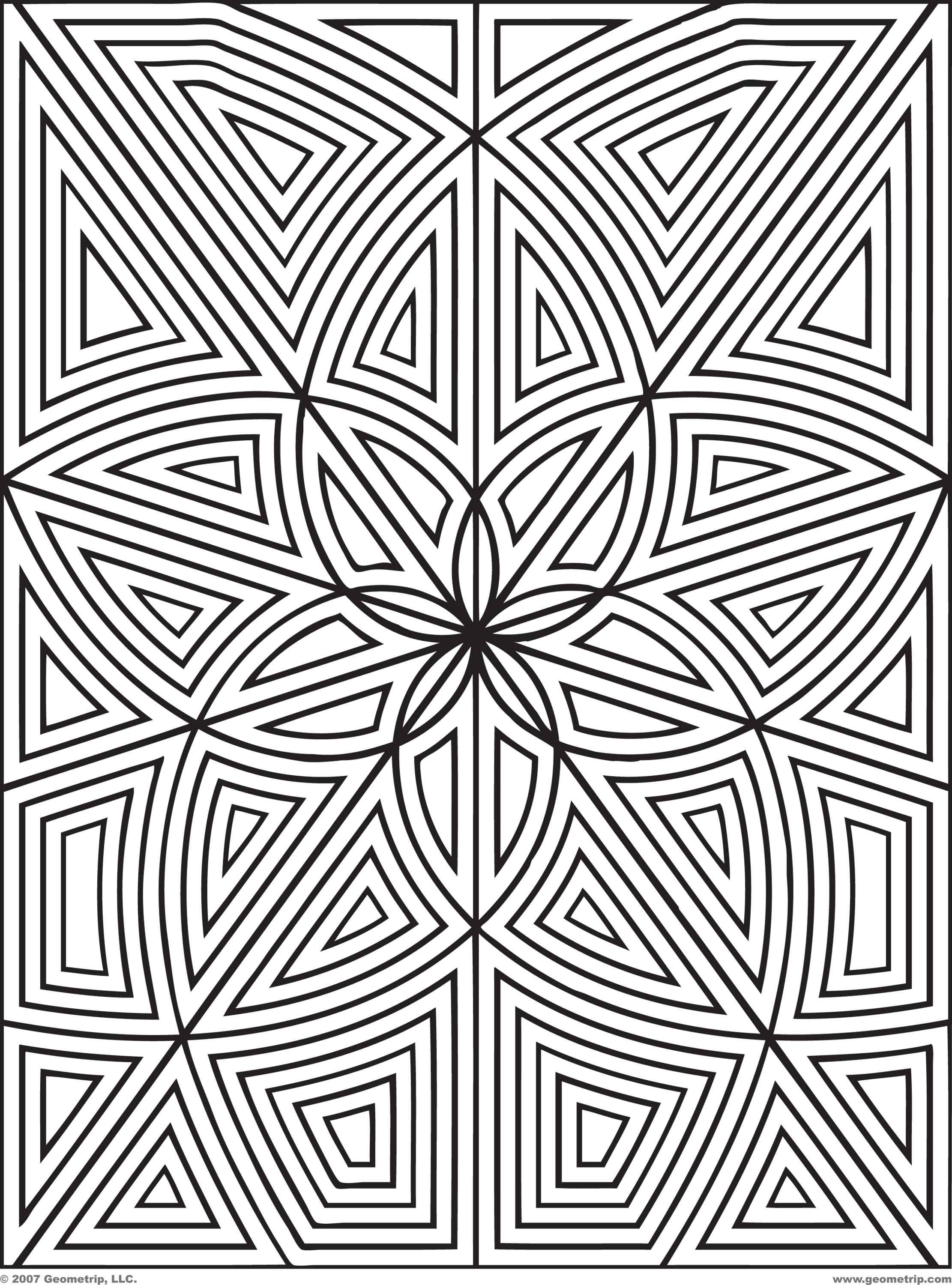 2222x3000 Designs To Print And Color Geometrip Free Geometric Coloring