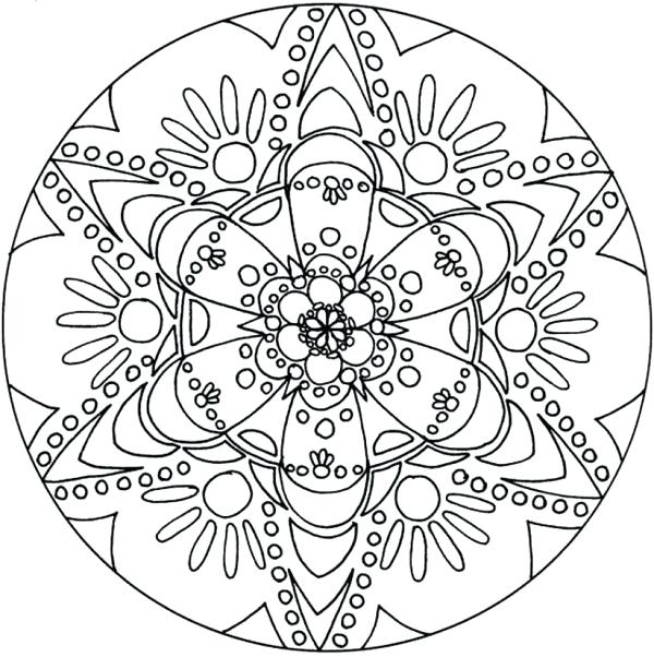 600x602 Amazing Flower Printable Coloring Pages Or Fancy Design Ideas Cool
