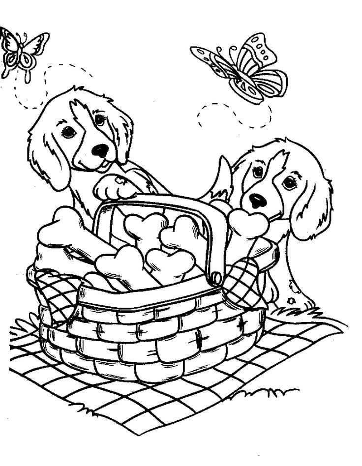 photograph regarding Printable Dog Colouring Pages called Amazing Doggy Coloring Internet pages at  Free of charge for