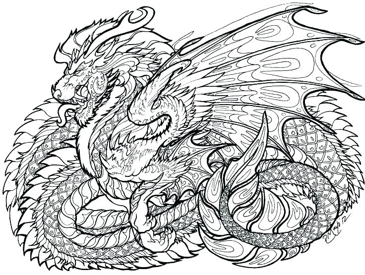 Cool Dragon Coloring Pages At Getdrawings Free Download