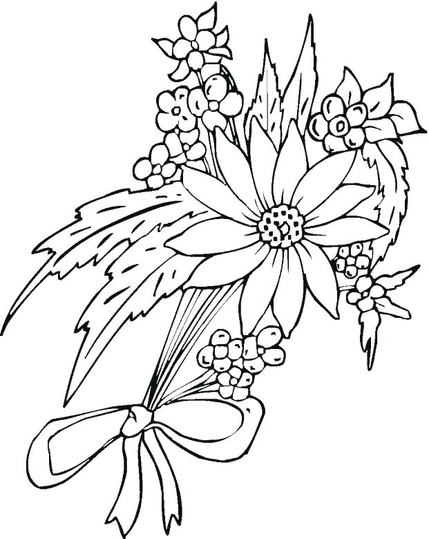 621x780 Hawaiian Flowers Coloring Pages Flowers Printable Coloring Pages