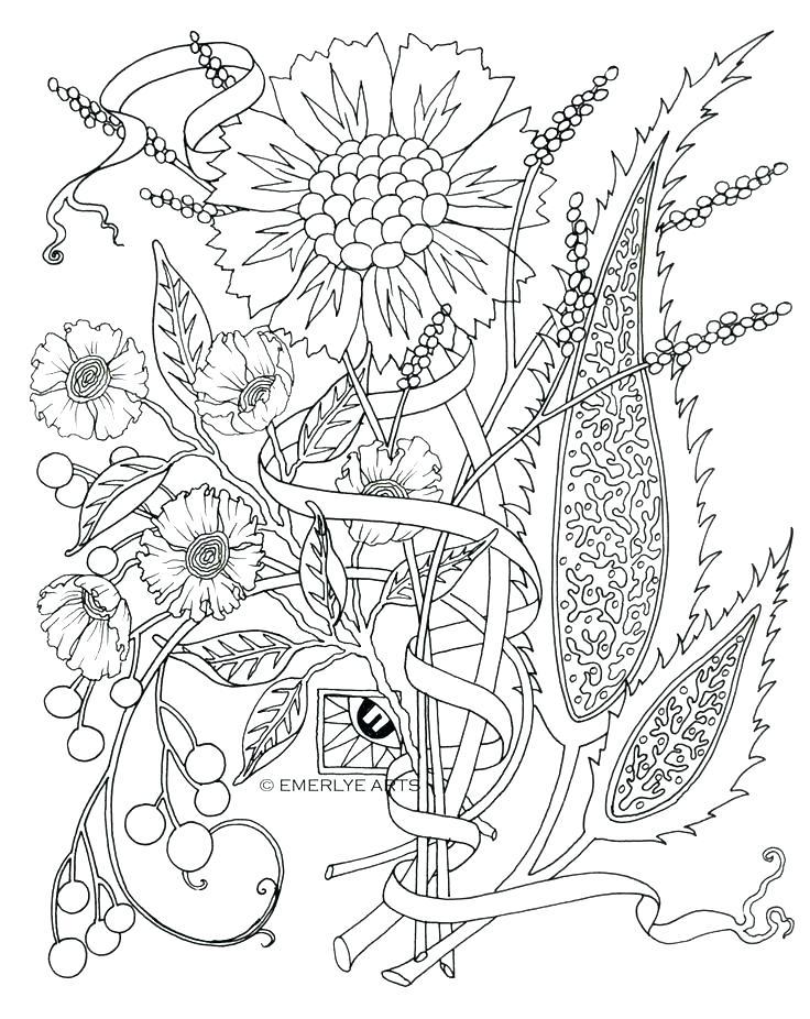 736x926 Coloring Cool Flower Coloring Pages Impressive Color Best