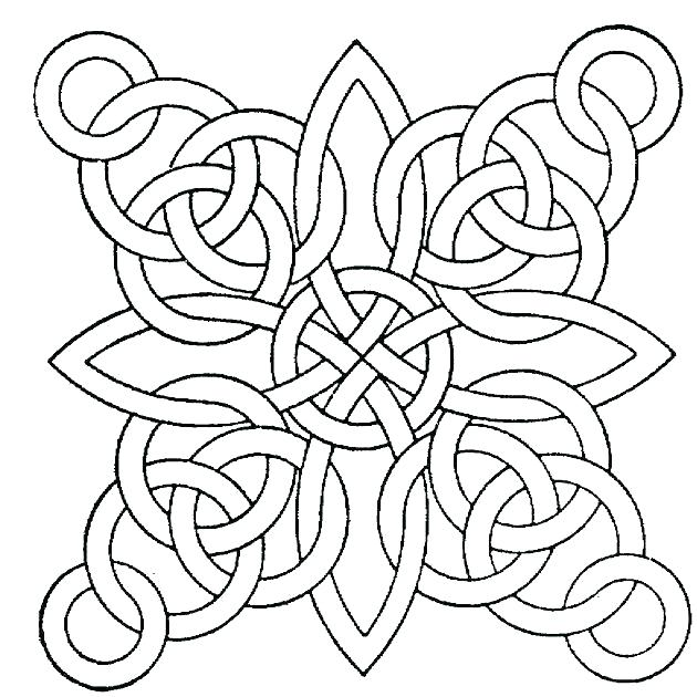 630x630 Geometric Coloring Designs Easy Geometric Coloring Pages Geometric