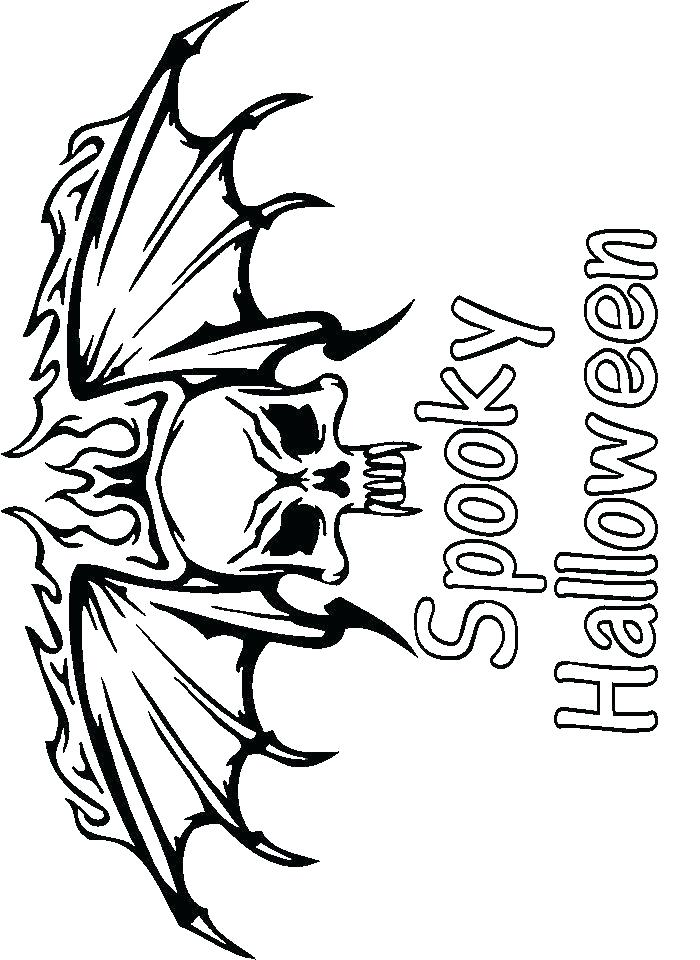 700x960 Scary Halloween Coloring Pages Coloring Pages Scary Scary Coloring